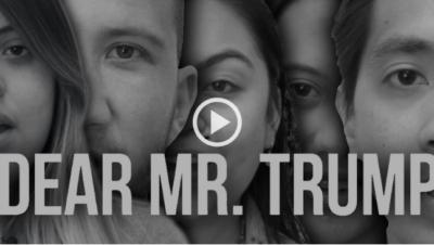 Dear Mr. Trump: My immigrant parents aren't rapists or drug dealers