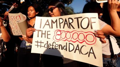 I'm a DACA student and I'm praying ICE won't pick up my parents